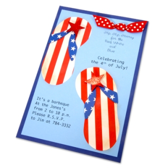 4th of July Cookout Invites