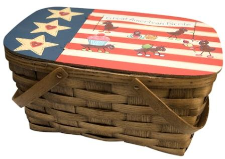 All-American Picnic Basket