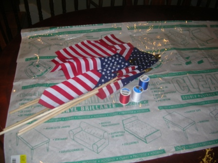 American Flag Placemat 1
