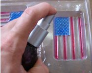 July 4th Flag Soap