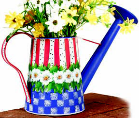 Patriotic Wind Chime And Watering Can Favecrafts Com