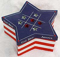 Stars and Stripes Game Box