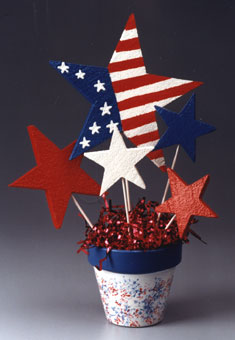 Patriotic Bouquet Decoration