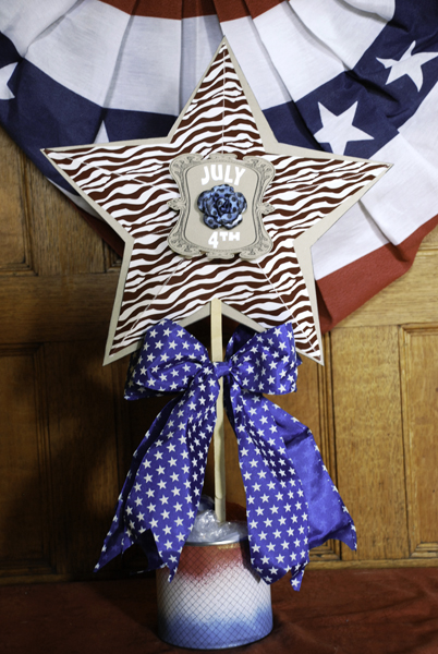 Fourth of July Centerpieces Side 2