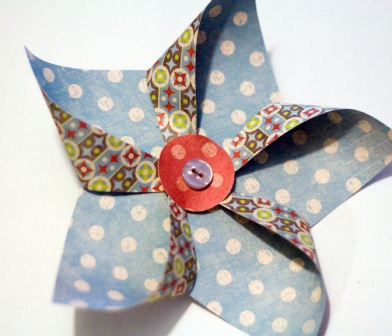 Star Pinwheel Step 3