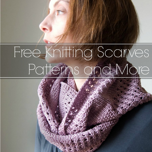 Simple Knitting Pattern For A Scarf : 16 Free Knitting Scarves Patterns and More ...