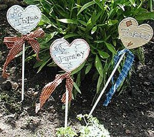 country garden plant stakes