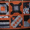 Geometric Halloween Table Runner