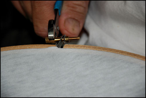 Tighten Embroidery Hoop