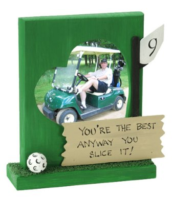Golf Lover Picture Frame