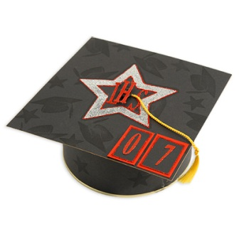 Graduation Cap Gift Box