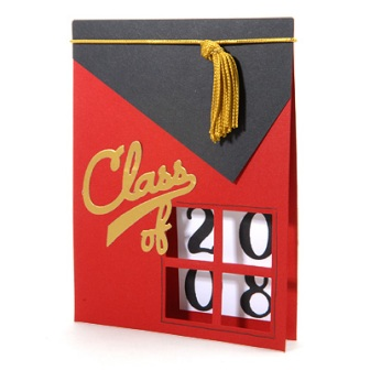 Graduation Window Card