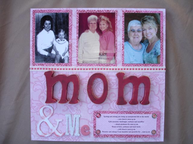Mom and Me Wall Plaque