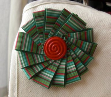 Grosgrain Ribbon Brooch