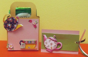 Tea Bag Gift Holder