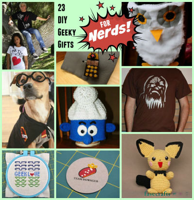 23 diy geeky gifts for nerds favecrafts 23 diy gifts for nerds solutioingenieria Gallery
