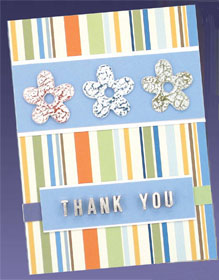 Handmade Thank You Greeting Card Favecrafts Com