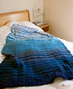 Grandma's Favorite Wobble Afghan