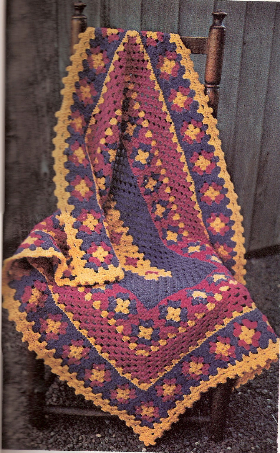 Granny Square Afghan Pattern Amazing Design Inspiration