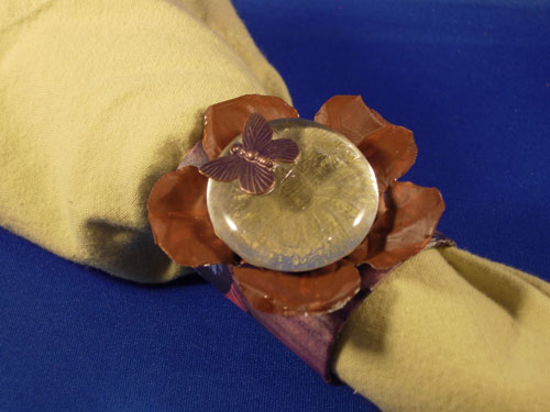 Buttefly Napkin Ring