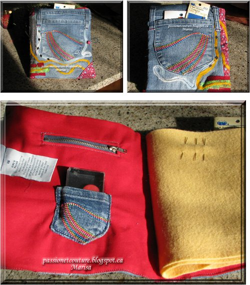 denim needle case