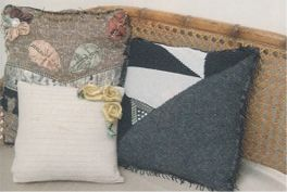 Recycled Sweater Pillows 2
