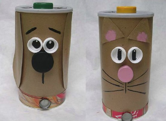 Recycled treat containers for How to make recycled paper crafts