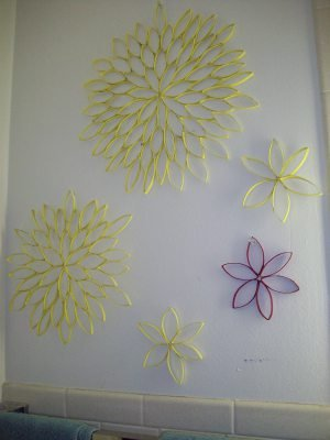 Toiler Paper Roll Sunflowers