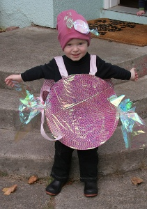 No-Sew Candy Costume