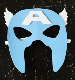 Captain America Mask Favecrafts