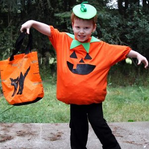 Cute as a Pumpkin Costume  sc 1 st  FaveCrafts & Cute as a Pumpkin Costume | FaveCrafts.com