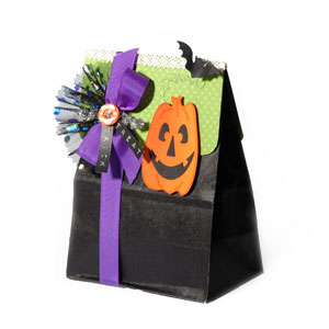 Halloween Pumpkin Goodie Bag