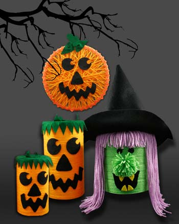 holloween craft ideas yarn crafts from yarn favecrafts 2188