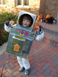 Retro Robot Costume