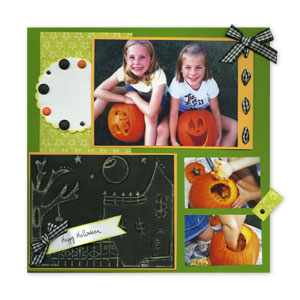 Scrapbook Page for Pumpkin Cravings