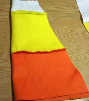 sugary sweet candy corn costume favecrafts