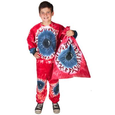 tie dye eyeball halloween costume
