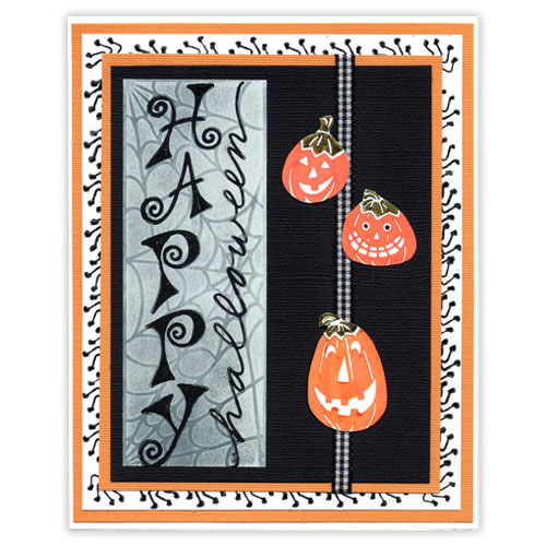 Happy Halloween Stamp Card