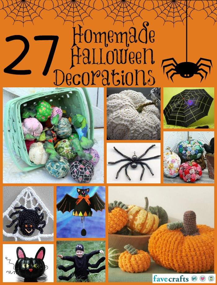 27 Homemade Halloween Decorations