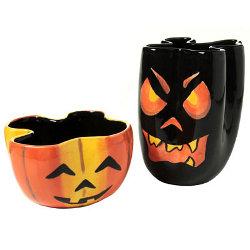 Jack O Lantern Decorative Bowls