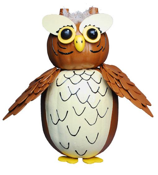 Owl pumpkin favecrafts