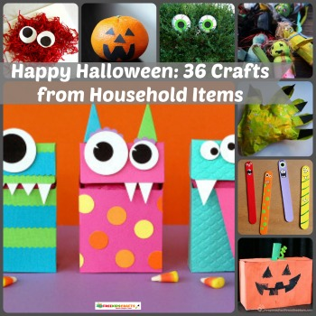 Happy Halloween: 36 Crafts from Household Items