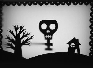 Haunted Shadow Puppet Theatre
