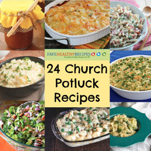Healthy Dinner Recipes for Church Potlucks