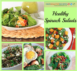 Healthy Spinach Salad Recipes