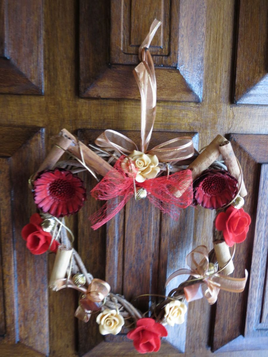 Cinnamon Scented Fall Wreath