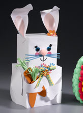 Papercraft Easter Bunny