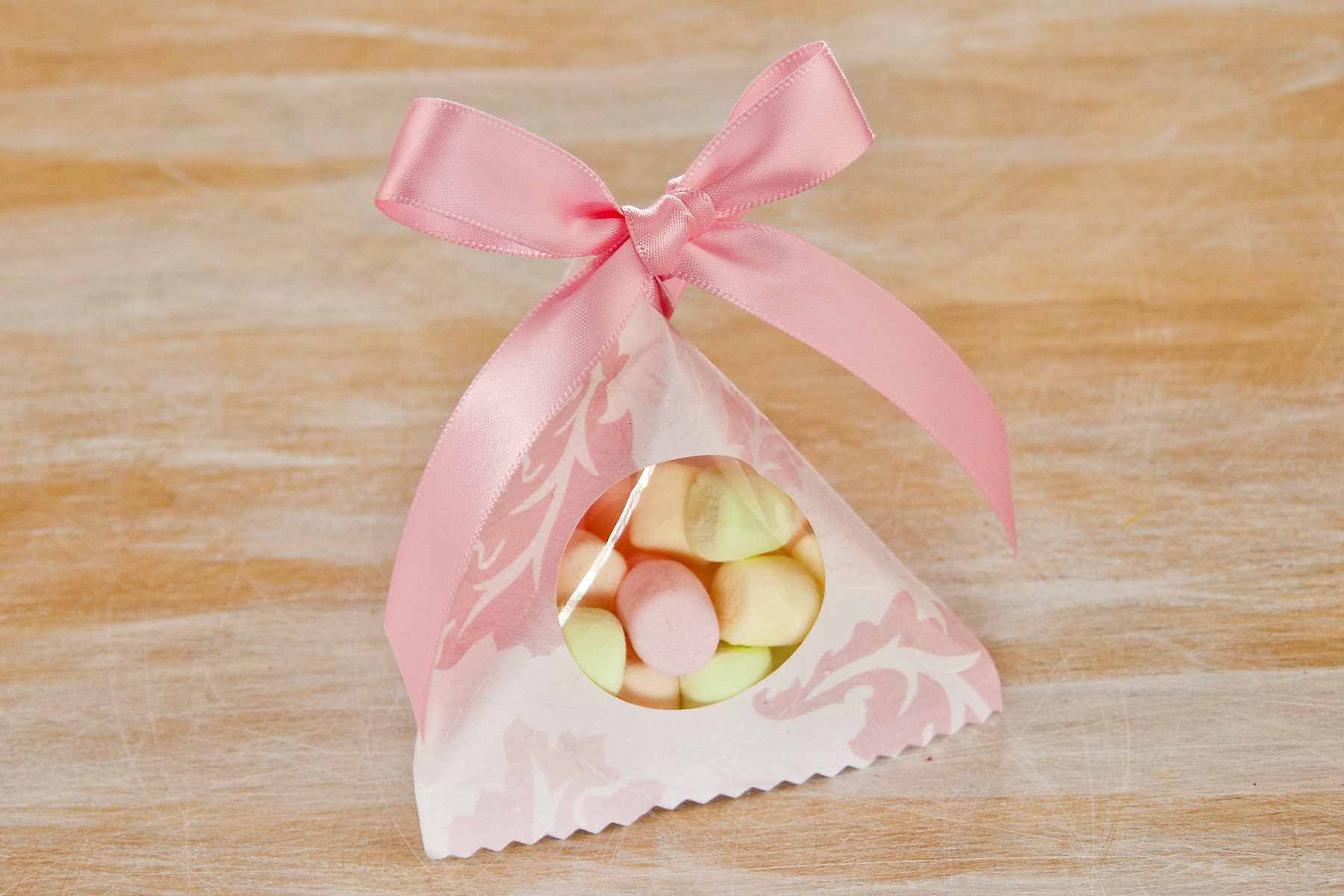 Easter Pyramid Candy Bag