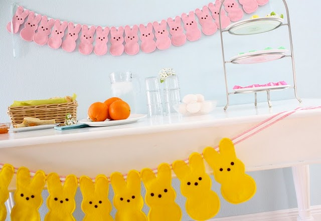 Bunny peeps bunting favecrafts bunny peep bunting negle Images