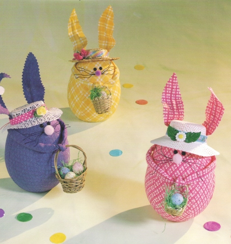 Fabric Easter Bunnies
